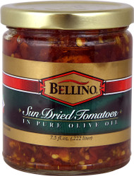 5 PACK of Bellino Sun-Dried Tomatoes in Pure Olive Oil - 7.5 fl oz