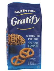 Gratify, Pretzel Twists Gluten Free,  Sea Salt - 14 oz