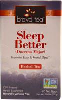 Bravo Tea Sleep Better Herbal Tea - 20 Tea Bags (5 PACK)