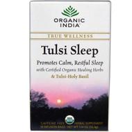 3 PACK of Organic India, Tulsi Sleep Tea, Caffeine Free, 18 Infusion Bags, 1.14 oz (32.4 g)
