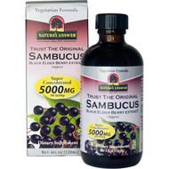 Natures Answer, Sambucus, Black Elder Berry Extract, 5,000 mg, 4 fl oz (120 ml)