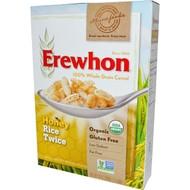 3 PACK of Erewhon, Honey Rice Twice Cereal, 10 oz (284 g)