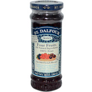 St. Dalfour, Four Fruits, Deluxe Four Fruits Spread, 10 oz (284 g) (Discontinued Item)
