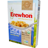 3 PACK OF Erewhon, Crispy Brown Rice Cereal, Gluten Free, 10 oz (284 g)