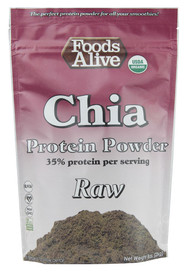 3 PACK of Foods Alive, Superfoods, Chia Protein Powder, 8 oz (227 g)