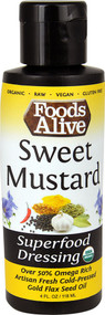 Foods Alive Superfood Dressing  Sweet Mustard - 4 fl oz