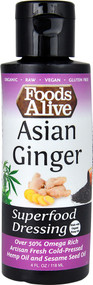 Foods Alive Superfood Dressing  Asian Ginger - 4 fl oz