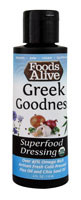 Foods Alive Superfood Dressing  Greek Goodness - 4 fl oz (5 PACK)