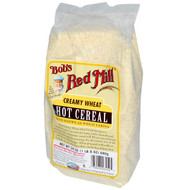 3 PACK of Bobs Red Mill, Creamy Wheat Hot Cereal, 24 oz (680 g)