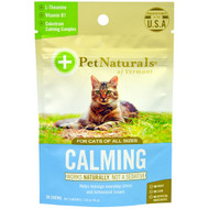3 PACK of Pet Naturals of Vermont, Calming, For Cats, 30 Chews, 1.59 oz (45 g)