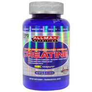 3 PACK of ALLMAX Nutrition, Creatine Powder, 100% Pure Micronized Creatine Monohydrate, Pharmaceutical Grade Creatine, 3.5 oz (100 g)