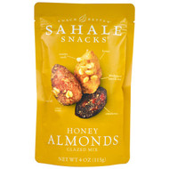 3 PACK of Sahale Snacks, Honey Almonds Glazed Mix, 4 oz (113 g)