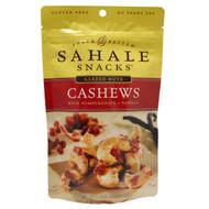 3 PACK of Sahale Snacks, Naturally Pomegranate Vanilla Flavored Cashews Glazed Mix, 4 oz (113 g)