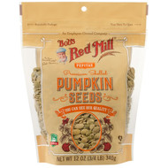 3 PACK OF Bobs Red Mill, Premium Shelled Pumpkin Seeds, 12 oz (340 g)