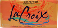 La Croix All Natural Sparkling Water Natural Grapefruit - 8 Cans (5 PACK) (40 cans total)