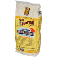 3 PACK of Bobs Red Mill, Whole Grain Brown Rice Flour, 24 oz (680 g)
