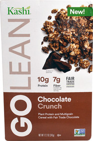 Kashi GoLean Plant Protein and Multigrain Cereal Chocolate Crunch - 12.2 oz