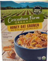 Cascadian Farms Organic Honey Oat Crunch Cereal - 13.5 oz