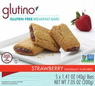 Glutino, Gluten Free Breakfast Bars,  Strawberry - 5 Bars (5 PACK)