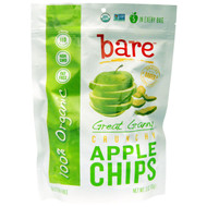3 PACK of Bare Fruit, Baked Crunchy, Organic Apple Chips, Granny Smith , 3 oz (85 g)