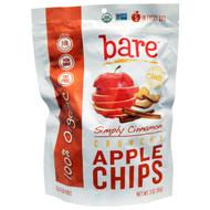3 PACK of Bare Fruit, Baked Crunchy, Organic Apple Chips, Cinnamon, 3 oz (85 g)