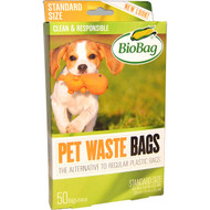 Biobag Dog Waste Bags -- 50 Bags
