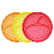 Munchkin, Multi Divided Plates, 3 Pack