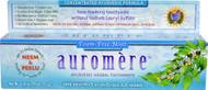 3 PACK of Auromere, Ayurvedic Herbal Toothpaste, Foam-Free,  Mint, 4.16 oz (117 g)