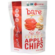 3 PACK of Bare Fruit, Baked Crunchy, Organic Apple Chips, Fuji & Reds, 3 oz (85 g)