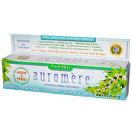 3 PACK of Auromere, Ayurvedic Herbal Toothpaste, Fresh Mint, 4.16 oz (117 g)