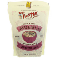 3 PACK of Bobs Red Mill Fruit & Seed Muesli European Style -- 14 oz
