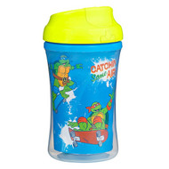 3 PACK OF NUK, Graduates, Teenage Mutant Ninja Turtles, Insluated Cup-Like Rim, 18+ Months, 1 Cup, 9 oz (270 ml)