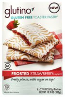 Glutino Gluten Free Toaster Pastry Frosted Strawberry (5 PACK)ets (5 PACK)