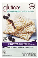 Glutino Gluten Free Toaster Pastry Frosted Blueberry (5 PACK)ets (5 PACK)
