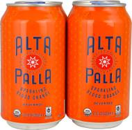 Hi-Ball Alta Palla Organic Sparkling Juice  Blood Orange - 12 fl oz Each / Pack of 4