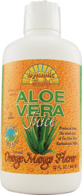 Dynamic Health, Organic Aloe Vera Juice,  Orange Mango - 32 fl oz