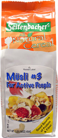 Seitenbacher, All Natural Cereal #3 Musli For Active People - 1 lb
