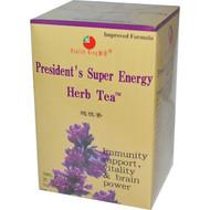 3 PACK of Health King, Herb Tea, Presidents Super Energy, 20 Tea Bags, 1.26 oz (36 g)