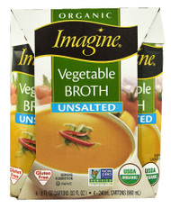 Imagine Foods, Organic Vegetable Broth - 4 Packs