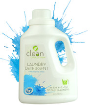 Vitacost - The Clean Collection Laundry Detergent - Fragrance Free - 50 fl oz (1.5 L)