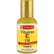 3 PACK OF De La Cruz, Vitamin E Oil, 15,000 IU, 2.2 fl oz (65 ml)