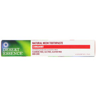 3 PACK OF Desert Essence, Natural Neem Toothpaste, Cinnamint, 6.25 oz (176 g)