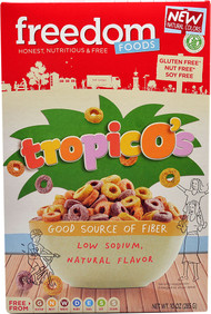 Freedom Foods, Tropicos Cereal Gluten Free,  Fruit - 10 oz