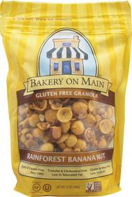 Bakery On Main, Gluten Free Granola,  Rainforest Banana Nut - 12 oz