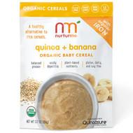 3 PACK of NurturMe, Organic Quinoa Cereal, Quinoa + Banana, Infant, 3.7 oz (104 g)