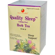 3 PACK of Health King, Quality Sleep, Herb Tea, Caffeine Free, 20 Tea Bags, 1.41 oz (40 g)