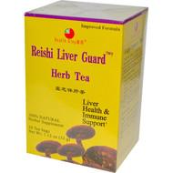 3 PACK of Health King, Herb Tea, Reishi Liver Guard, 20 Tea Bags, 1.12 oz (32 g)