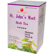 3 PACK of Health King, St Johns Wort Herb Tea, 20 Tea Bags, 1.20 oz (34 g)