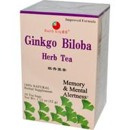 Health King, Ginkgo Biloba Herb Tea, 20 Tea Bags, 1.12 oz (32 g)