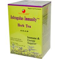 3 PACK of Health King, Astragalus Immunity Herb Tea, 20 Tea Bags, 1.20 oz (34 g)